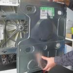 changement d'un charbon d'un moteur de lave-linge