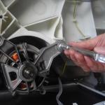 remplacer un charbon de moteur de lave-linge