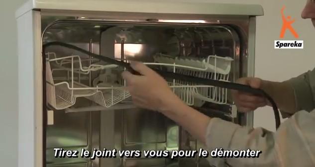 remplacer le joint de porte de lave-vaisselle