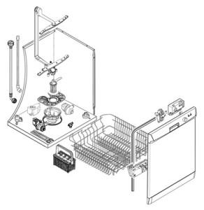 pi ces d tach es de lave vaisselle fonctionnement et entretien. Black Bedroom Furniture Sets. Home Design Ideas