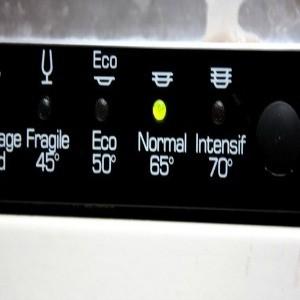 programme lave-vaisselle